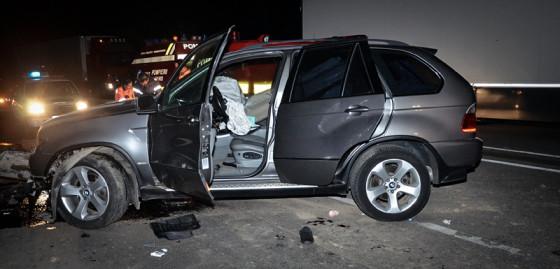 Accident cu un mort pe DN 5 SITE